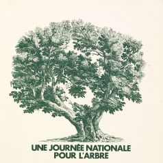 Brochure �dit�e pour la premi�re journ�e de l'arbre, 16 avril 1977 (1550 W 44)